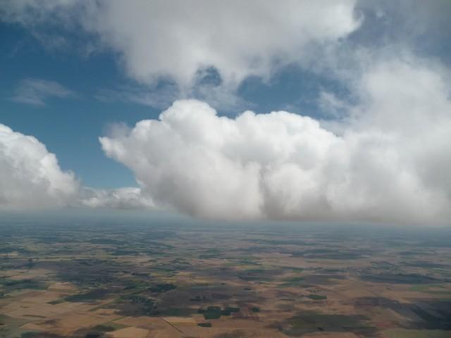 Le ciel au premier vol