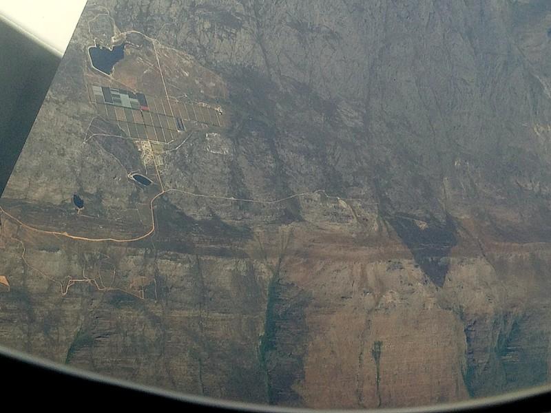 Porterville's ridge Task8 amazing task between Cape Town and Addis Ababa :-)) : hasard de trajectoire de cet Ethiopian Airlines ! :-))