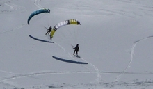 Entre Speed et snow kite