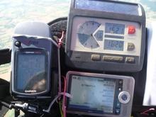 M2 Cockpit de compet avec erreur de programmation de balise sur le pocket PC