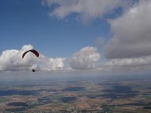 Highlight for Album: Assais, samedi 28 aout 2010, 108 km, vol avec Piero et Laurent, Franck fait 255 km