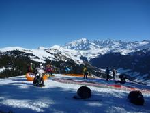 Highlight for Album: 15 janvier 2011 Vol et Ski des Saisies