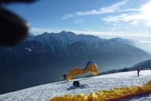 Highlight for Album: 16 janvier 2011 Vol et Ski des Saisies