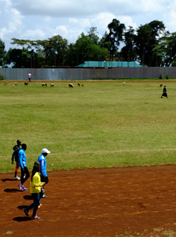 Iten, Elgeyo Marakwet County - stade et entrainement des marathoniens kenyans