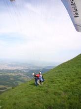Highlight for Album: Mon client préféré découvre le parapente au Puy de Dôme