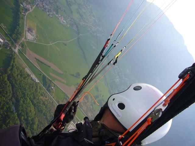 vue sur atterro Doussard