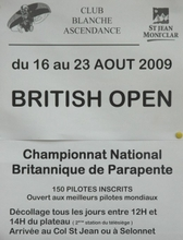 British Open Dormillouse - aout 2009
