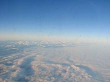enfin grand vol et grand bleu...mais vu d'avion