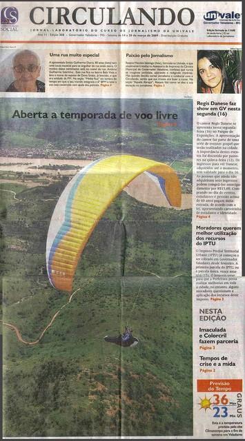 Valadares Open, mars 2009 - presse locale