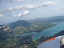 Highlight for Album: Planeur Lac St Croix Gorges du Verdon 5 mai 2009